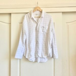 Madewell Window Pane Flannel